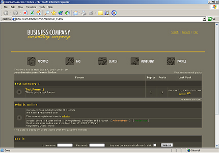 create phpbb  themes